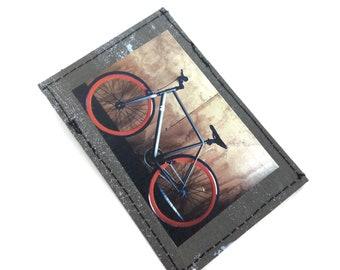 Slim wallet, thin wallets, mini wallet, credit card holder, business card holder, front pocket wallet , vegan wallet, bike wallet