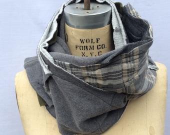 fleece scarf, winter scarf