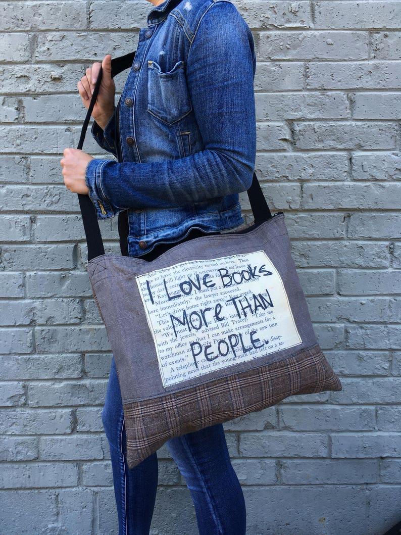 Crossbody bag messenger bag recycled bag fabric bag image 0