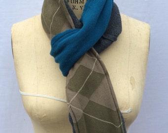 Winter scarf, fleece scarf, warm scarf