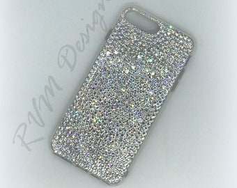 Clear Multi Size Crystal phone case for iPhone or Samsung made with  Swarovski Crystals b8ba7eecfd