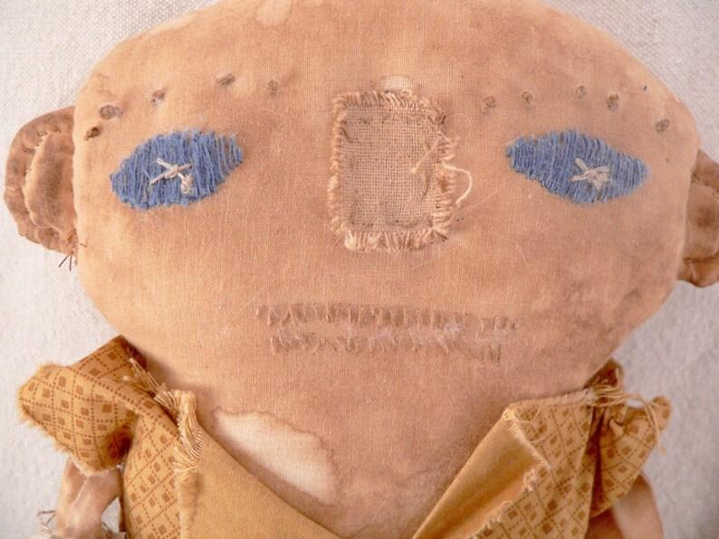 Boy Doll Primitive Doll Prim Doll Primitive Decor image 0