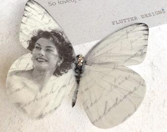 Silk Butterfly Memorial Gift