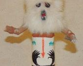 Vtg HOPI Kachina Doll quot WOLF quot by TB
