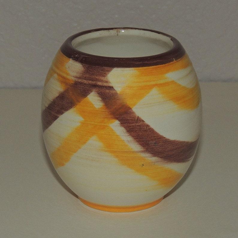 Vtg Gale Turnbull Vernon Kilns California  Small Vase