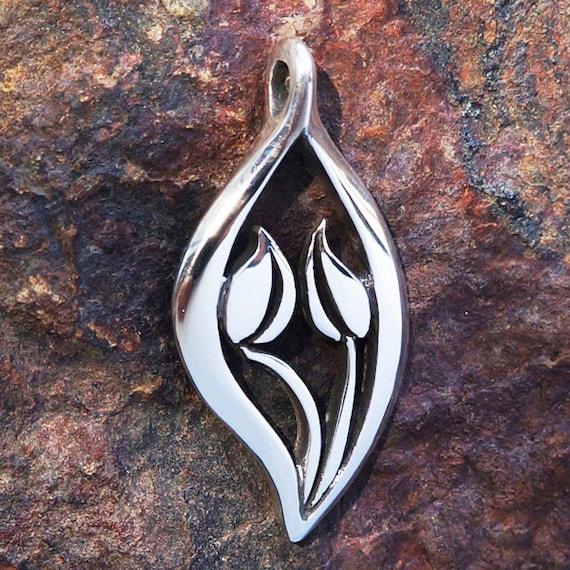 Equality Pendant Necklace Silver Symbolic Jewelry Sacred Etsy