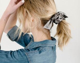 Silk Scrunchie/Hair Tie/Bow Scrunchie