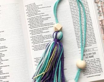 Charlotte Yarn Tassel Bible Bookmark