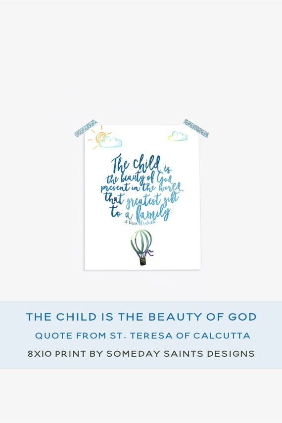photograph about Mother Teresa Do It Anyway Free Printable called Mom Teresa Estimate Phrase Artwork Printable Boy or girl is the magnificence