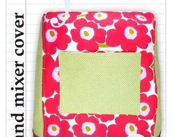 the stand mixer cover PDF sewing pattern