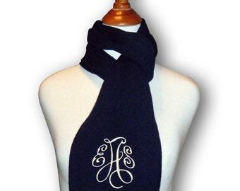 Monogrammed scarf | Etsy