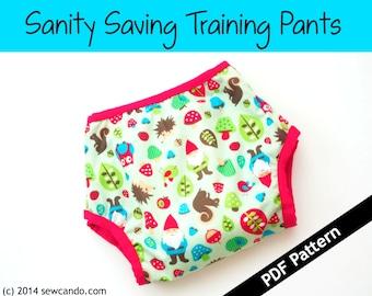 Sanity Saving Training Pants PDF Pattern