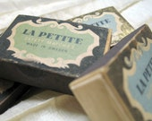 Mid-Century La Petite Swedish Luxury Matches Made in Sweden Matchbox Four Boxes