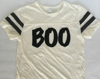 BOO Halloween Unisex Tee   Halloween T-Shirt for Women   Halloween T-Shirt for Men   The Boo Crew T-Shirt   Halloween Boo Women's Shirt