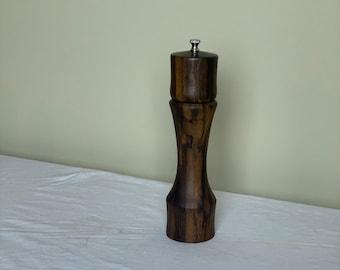 """Greenheart peppermill 10"""" tall pepper grinder"""