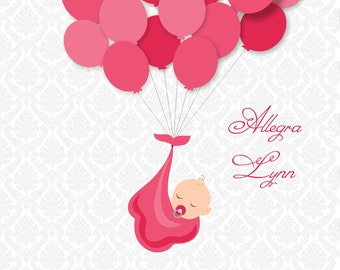 Baby Shower Guest Sign-In Print (Guestbook) - Multiple colors - Up to 25 guests NEW!