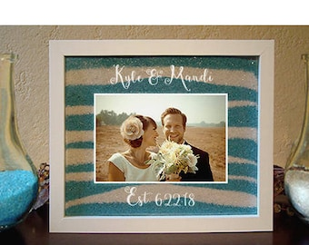 Unity Sand Ceremony Frame With Engraving