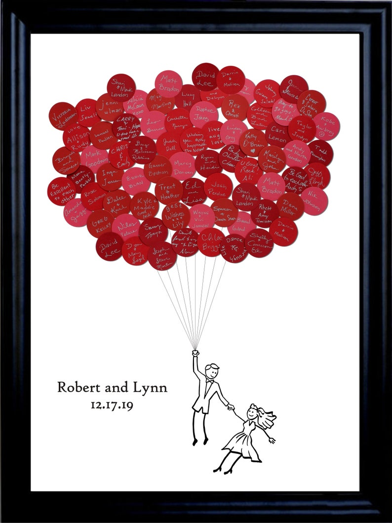 Wedding Guest Book Balloons