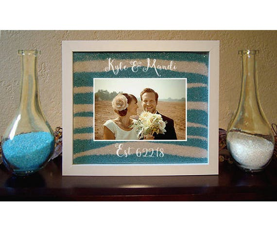 Unity Sand Ceremony Frame With Engraving Etsy