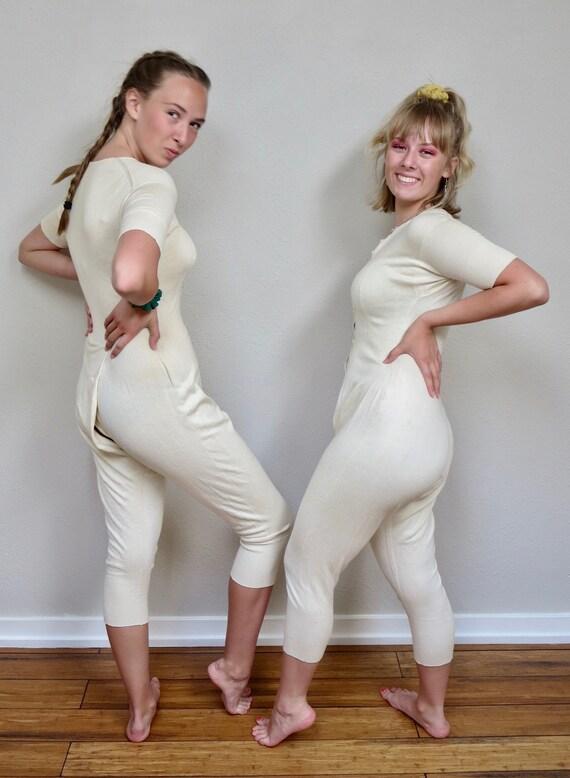 Rare 1920s Women's Soft Wool Short Sleeved Shaped