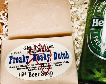 Beer Soap, Freaky Deaky Dutch