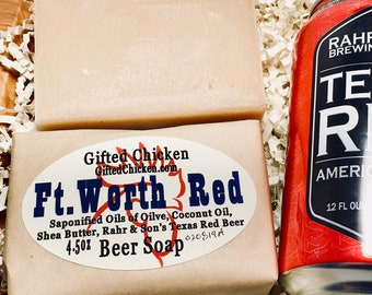 Beer Soap, Ft. Worth Red