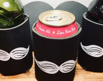 Can & Bottle Cooler, Mustache