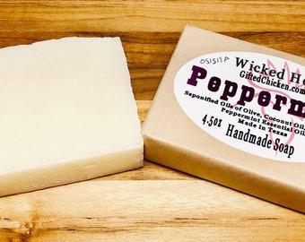 Handmade Soap, Peppermint