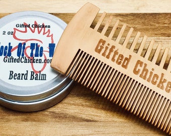 Beard Balm Gift Set, Cock Of The Walk