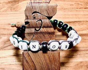 Beaded Bracelet, Join Or Die