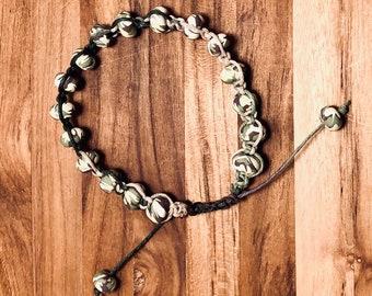 Beaded Bracelet, Camo