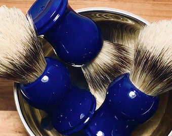 Shave Brush, Blue