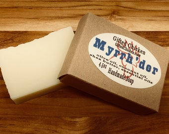 Bar Soap (Handmade), Myrrh'der