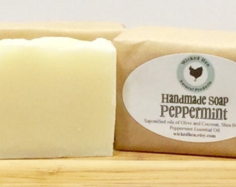 Bar Soap (Handmade), Peppermint