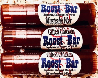 Mustache Wax, Roost Bar .5oz