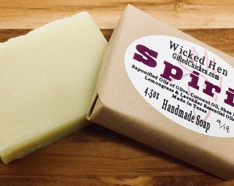 Bar Soap (Handmade), Spirit