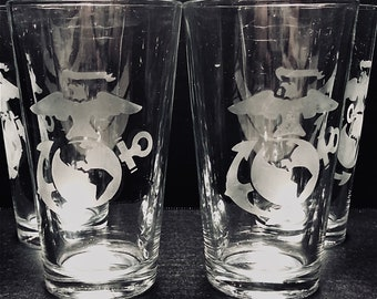 Beer Glasses, Marines