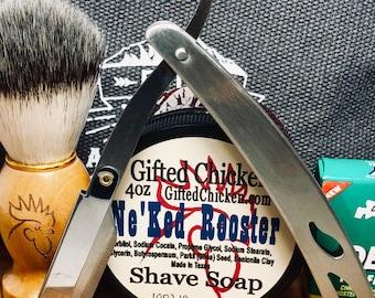 Shaving Kit Travel Bag, Stainless Straight Razor
