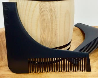 Beard Comb, Shaping