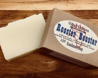 Bar Soap (Handmade), Rooster Booster