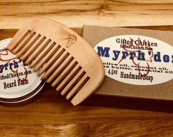 Beard Balm Gift Set,  Myrrh'der