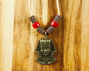Necklace, Bronze Pharaoh