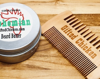 Beard Butter Gift Set, Bohemian Hemp