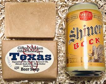 Beer Soap, Texas