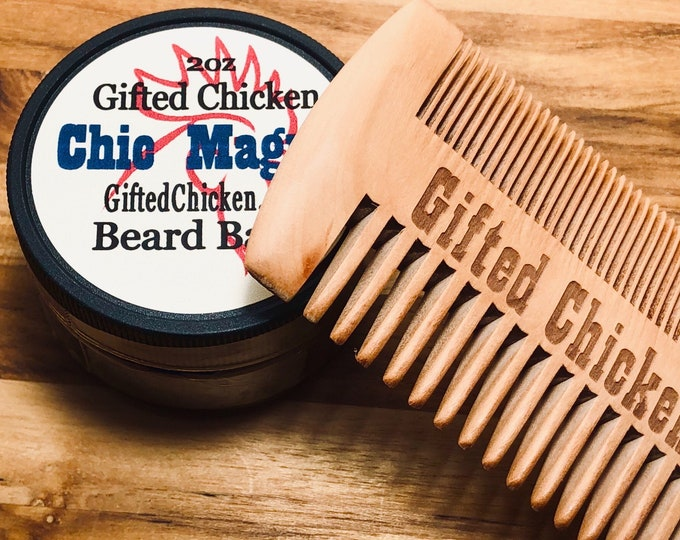 Featured listing image: Beard Balm Gift Set, Chic Magnet
