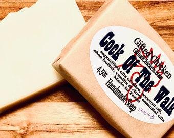Handmade Soap, Cock Of The Walk