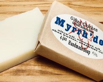 Bar Soap (Handmade), Myrrh'der