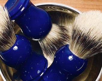 Shave Brush, Blue