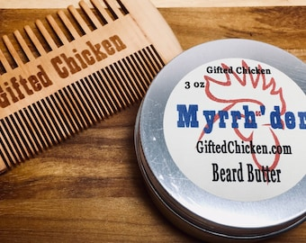 Beard Butter Gift Set, Myrrh'der