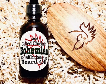 Beard Oil Gift Set, Bohemian Hemp